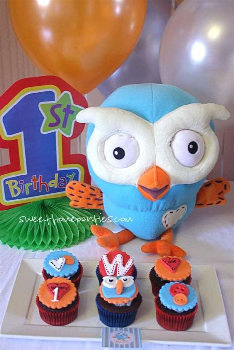 Giggle And Hoot Decorations by Giggle And Hoot Birthday Ideas Photo 7 Of 18 Catch