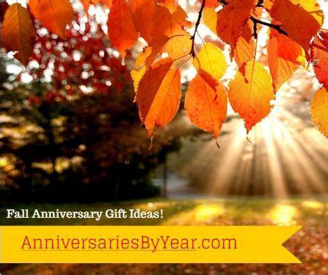 Fall Anniversary Gift Ideas   Wedding Anniversary Blog