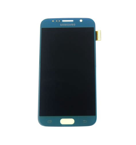 Samsung Touch Blue lcd touch screen light blue original for samsung galaxy