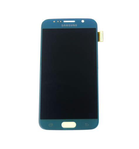 Lcd Touchscreen Samsung S6 Original lcd touch screen light blue original for samsung galaxy s6 g920f gh97 17260d lcdpartner