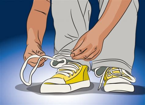 how to tie my shoes for to the code from kindergartners to college students