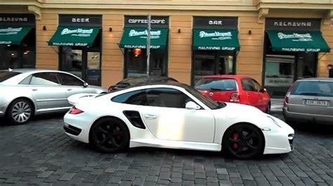 porsche matte white matte white techart 911 turbo in prague hd