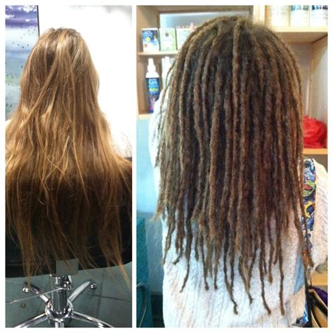 why are my dred extensions so stiff before and after dread installation at g spot hair design
