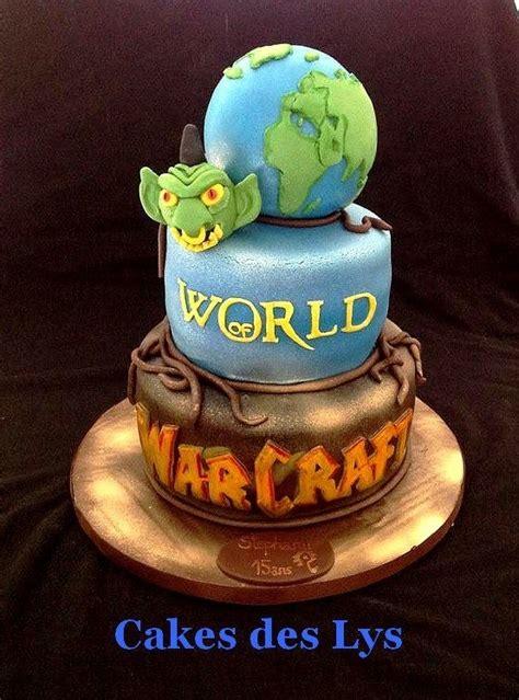 world of warcraft by leila cake des lys cake designer en