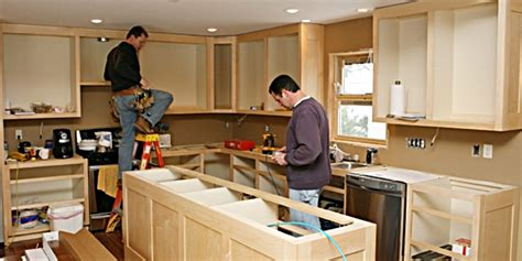 How Do You Hang Kitchen Wall Cabinets by How To Build And Install Kitchen Cabinets