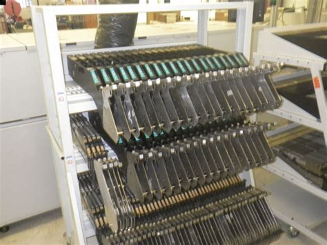 Rack Feeder by Universal Feeder Storage Pre Owned Smt Equipment For Sale