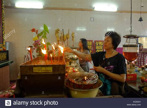 new year georgetown penang goddess of mercy temple penang stock photos goddess of