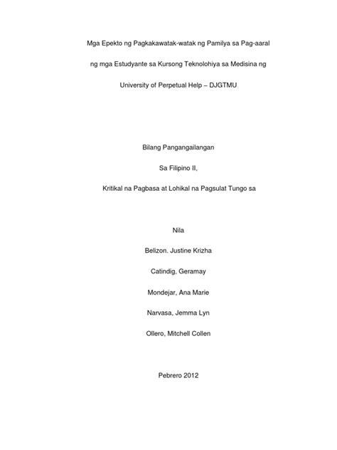 thesis tagalog translation paano gumawa ng thesis statement sa tagalog