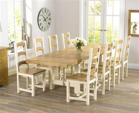 Natural wood dining room tables