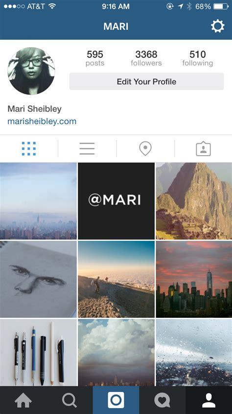 instagram mobile instagram screenshots mobile patterns