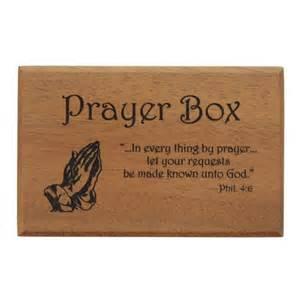Mahogany prayer box the catholic company
