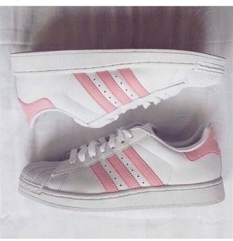 all light pink adidas adidas originals superstar ii w white light pink athletic