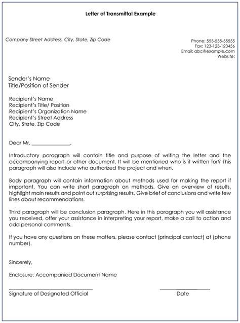 letter of transmittal templates pinterest template