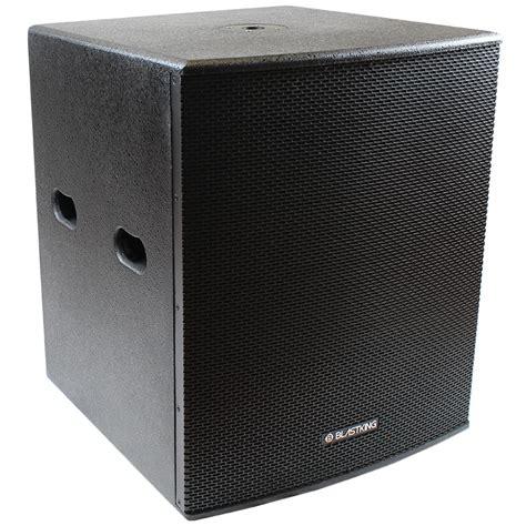 Speaker Subwoofer 18 Inches 18 inch powered subwoofer bps18ii blastking