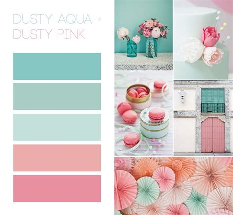 colors that look with gold vintage and muted rustic to teal and pink search