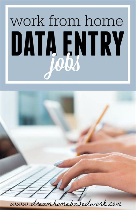 legitimate data entry you can do from home