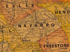 navarro county map images