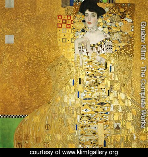 biography of adele bloch bauer gustav klimt the complete works biography