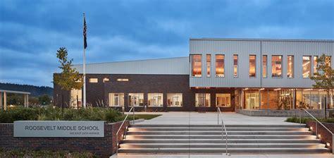 Home Design Eugene Oregon new school building roosevelt middle school