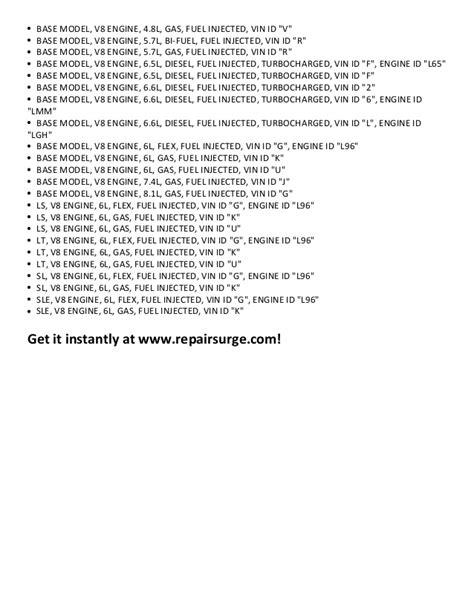 service repair manual free download 1998 gmc savana 1500 electronic valve timing gmc savana 3500 repair manual 1996 2011