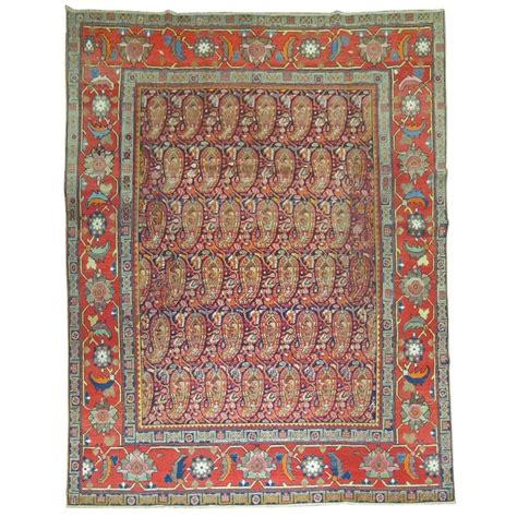 paisley rugs sale paisley malayer rug for sale at 1stdibs