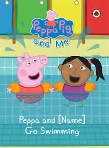 peppa pig swimming child