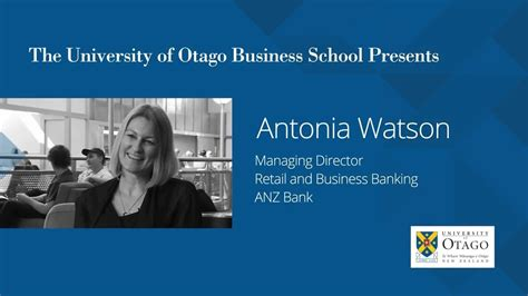 Of Maryland Mba Login by Q A With Antonia Watson Anz S Md Of Retail Business