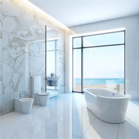 White Marble Bathrooms by 25 White Bathroom Ideas Design Pictures Designing Idea