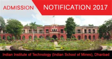 Ism Dhanbad Mba by Indian Institute Of Technology Ims Dhanbad Mba