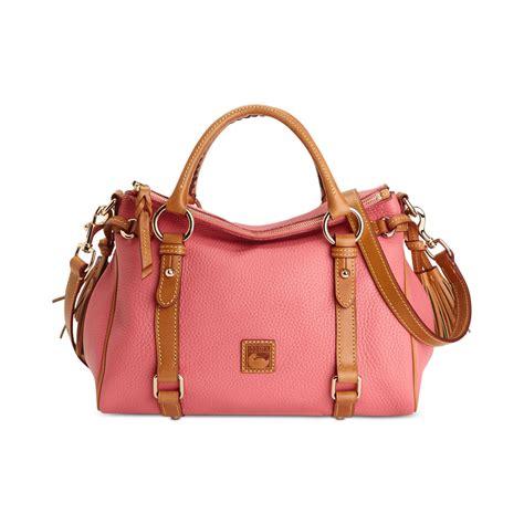 Dooney Bourke Ebelle5 Designer Dooney And Bourke Mini Handbag And Organizer Giveaway by Dooney Bourke Dillen Ii Small Satchel In Pink Bubblegum
