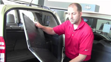 Toyota City Mn 2011 Toyota Rav4 Cargo Hooks And Tie Downs How To