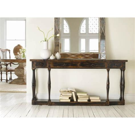 sanctuary 4 drawer console table sanctuary 4 drawer thin console table creek