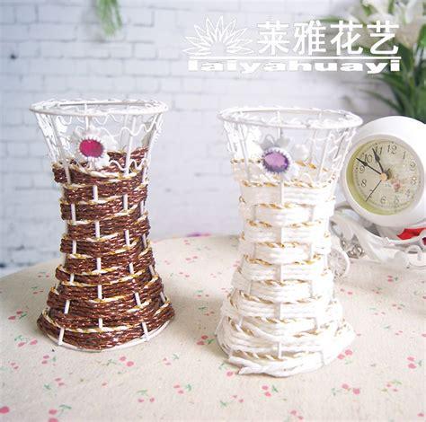 decorar jarrones con yute tenedor r 250 stico con el diamante botella florero de la