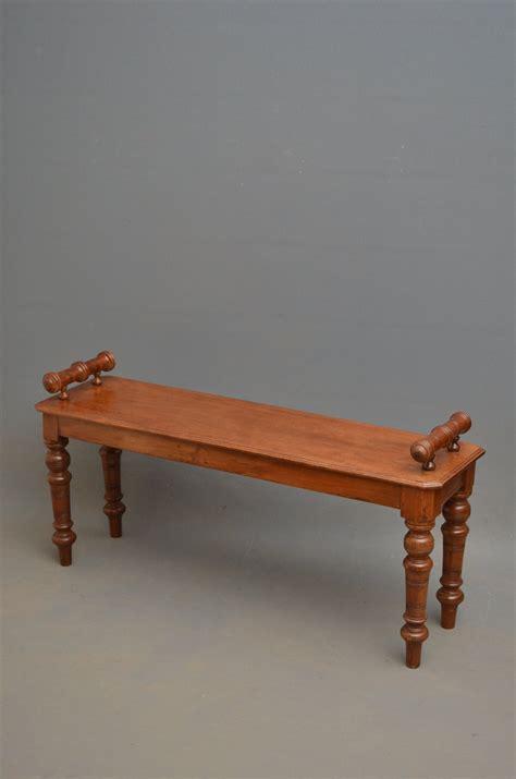 antique mahogany bench victorian hall bench mahogany window seat antiques atlas