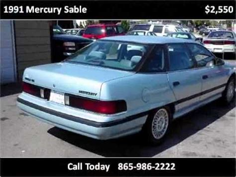 car owners manuals for sale 1989 mercury sable transmission control 1991 mercury sable used cars lenoir city tn youtube