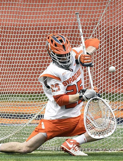 syracuse lacrosse goalie wins weekly acc honor syracusecom