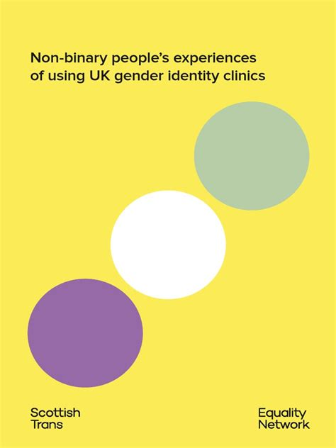 nonbinary gender identities history culture resources books non binary people s experiences of using uk gender