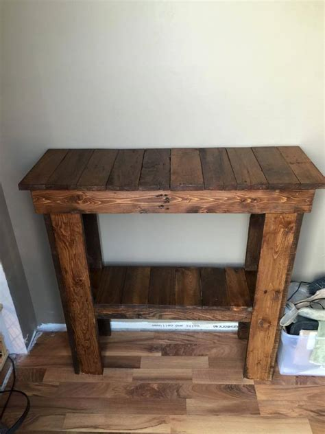 pallet entry table 15 inspired pallet ideas for your home