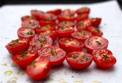roasted tomatoes recipe marinated mozzarella with garlic and slow roasted tomatoes