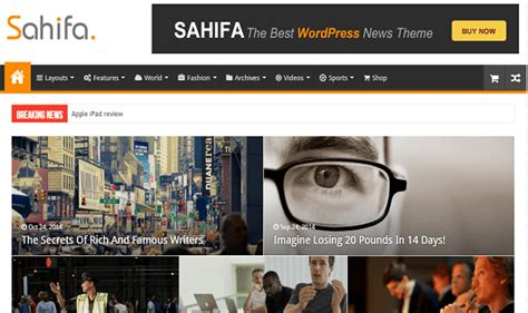 sahifa theme language 15 best arabic wordpress themes multilingual rtl theme 2017