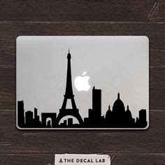 Macbook Decal City 3d new york city silhouette cutouts for side walls back