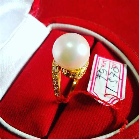 Cincin Handmade - handmade gold ring with south sea pearl cez 40 info