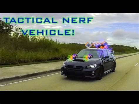 nerf car tactical nerf vehicle