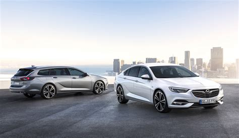 2017 opel insignia specifications revealed german