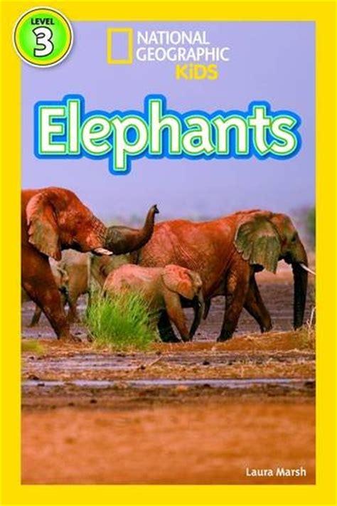 libro national geographic kids readers elephants national geographic kids readers level oferta