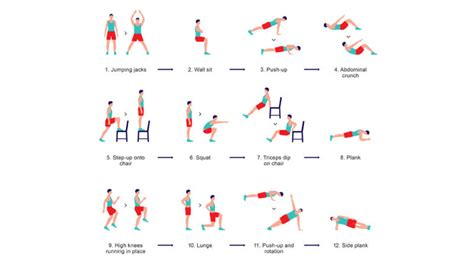 this 7 minute research based workout exercises your whole