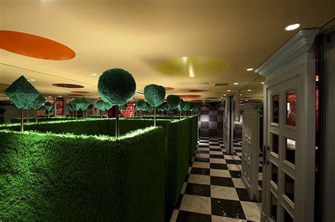 alice  wonderland themed restaurant adorable home