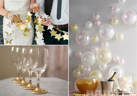 easy diy  year  eve decorations
