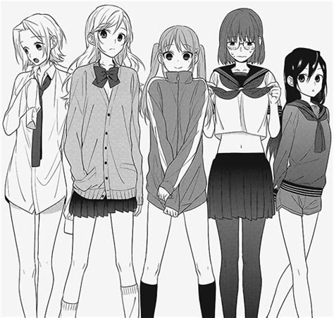 Anime Horimiya Official Fanbook ichido watashi wa yume o mimashi ta the official anime