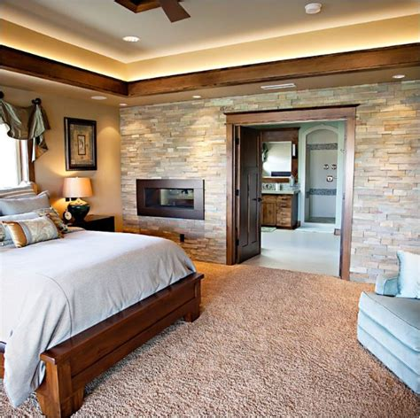 stone accent wall bedroom best 20 stone accent walls ideas on pinterest